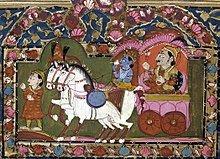 220px-Krishna_and_Arjun_on_the_chariot,_Mahabharata,_18th-19th_century,_India