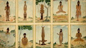 Planche Yoga ancien