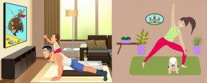 Yoga-maison-famille